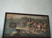 قاب عکس با منظره زیبا چاپ رنگی همراه شیشه در شیپور-عکس کوچک