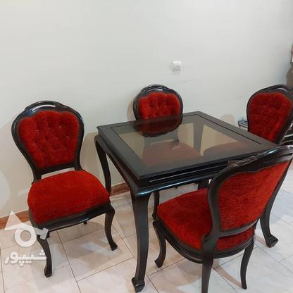 مبل 6 نفره و ناهار خوری 4 نفره در گروه خرید و فروش لوازم خانگی در تهران در شیپور-عکس5