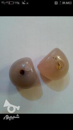 دوعدد سنگ قیمتی نقش دار در گروه خرید و فروش لوازم شخصی در خوزستان در شیپور-عکس3