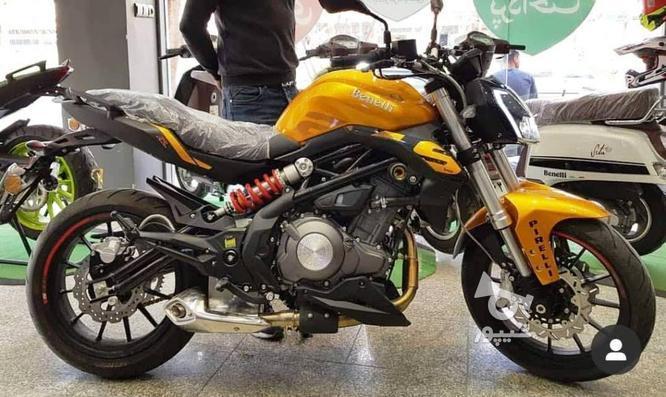 موتور سنگین300 دو سیلندر بنللی طلایی در گروه خرید و فروش وسایل نقلیه در مرکزی در شیپور-عکس1