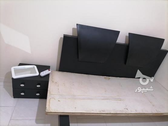 تخت خواب دونفره بدون تشک در گروه خرید و فروش لوازم خانگی در تهران در شیپور-عکس3