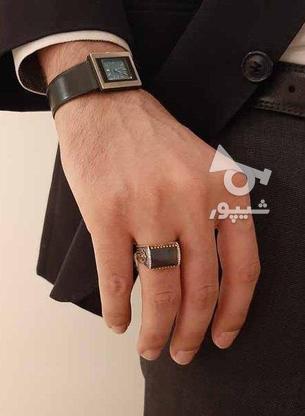 انگشتر نقره مدل کاناریا - سنگ صدف - نو در گروه خرید و فروش لوازم شخصی در تهران در شیپور-عکس4