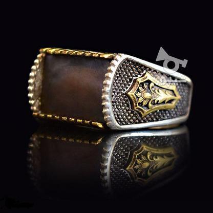 انگشتر نقره مدل کاناریا - سنگ صدف - نو در گروه خرید و فروش لوازم شخصی در تهران در شیپور-عکس1
