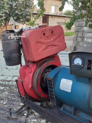 موتور برق پانچار تک سیلند با ژنراتور 3 کیلووات در گروه خرید و فروش صنعتی، اداری و تجاری در گلستان در شیپور-عکس3
