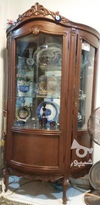 بوفه ظرف با چوب نراد در گروه خرید و فروش لوازم خانگی در مازندران در شیپور-عکس1