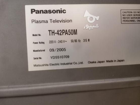 تلویزیون پاناسونیک پلاسما 42 اینچ در گروه خرید و فروش لوازم الکترونیکی در خوزستان در شیپور-عکس2