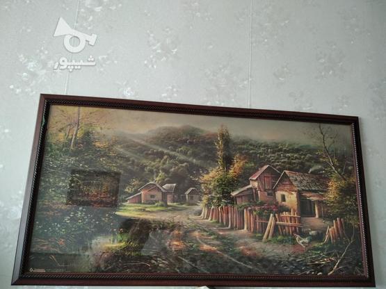 قاب عکس زیبا چاپ رنگیروغنی همراه شیشه 1/10در60 در گروه خرید و فروش لوازم خانگی در اصفهان در شیپور-عکس1