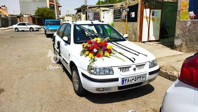 سمند97سفیدرنگ در گروه خرید و فروش وسایل نقلیه در لرستان در شیپور-عکس1