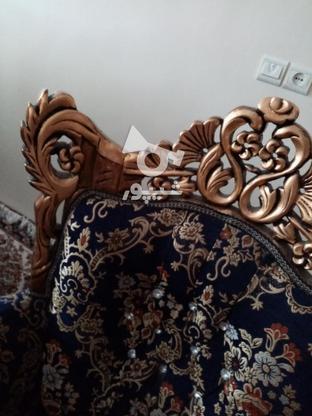 مبل اسطیل چوب راش ورق طلا در گروه خرید و فروش لوازم خانگی در تهران در شیپور-عکس1