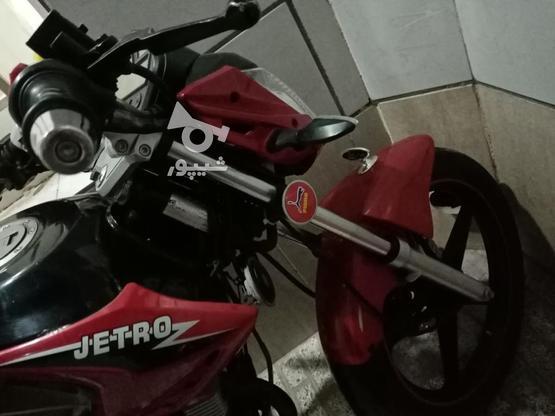 موتور سیکلت جترو بسیار تمیز مدل 95 در گروه خرید و فروش وسایل نقلیه در خراسان رضوی در شیپور-عکس2