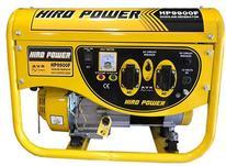 موتور برق بنزینی هیروپاور استارتی مدل HP9900FE2 با چرخ ودسته در شیپور-عکس کوچک