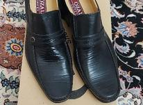 کفش مردانه چرم صنعتی در شیپور-عکس کوچک