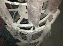 دوجفت چرخ آهنی وشصت پر باهم یک وهفتصد مفت سالم وبدونه شکستگی در شیپور-عکس کوچک