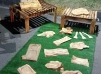 کار در کارگاه صنایع دستی چوبی در شیپور-عکس کوچک