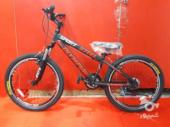 دوچرخه 24 المپیا مدل اسپرت استیل در گروه خرید و فروش ورزش فرهنگ فراغت در قزوین در شیپور-عکس1