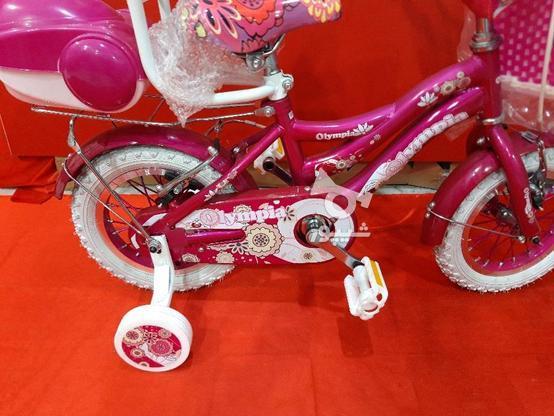 دوچرخه 12 المپیا دخترانه در گروه خرید و فروش ورزش فرهنگ فراغت در قزوین در شیپور-عکس3