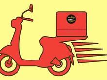 نیازمند پیک موتوری یا ماشین جهت کار در فست فود در شیپور