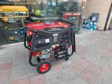 موتور برق ویستا علفتراش چمن زن علفزن ژنراتور 6.5 سمپاش اشتیل در شیپور