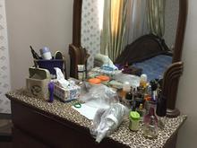 تخت خواب 2 نفره با عسلی و میز توالت در شیپور