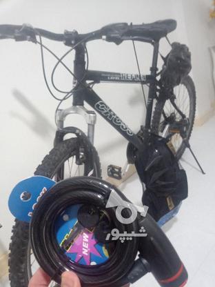 دوچرخه کراس 26 با وسایل در گروه خرید و فروش ورزش فرهنگ فراغت در تهران در شیپور-عکس2