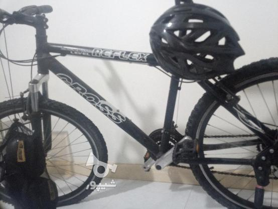 دوچرخه کراس 26 با وسایل در گروه خرید و فروش ورزش فرهنگ فراغت در تهران در شیپور-عکس4