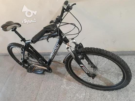 دوچرخه کراس 26 با وسایل در گروه خرید و فروش ورزش فرهنگ فراغت در تهران در شیپور-عکس7
