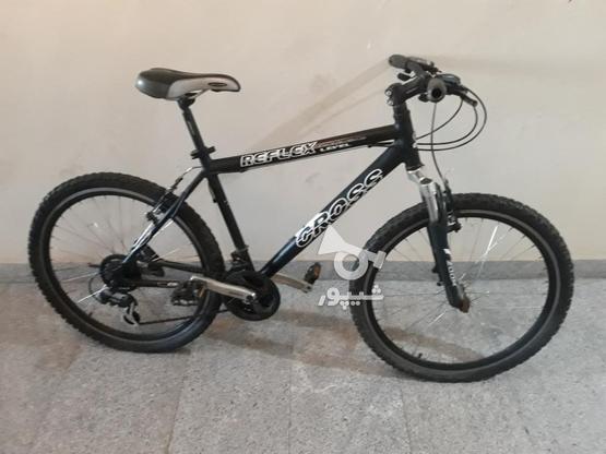 دوچرخه کراس 26 با وسایل در گروه خرید و فروش ورزش فرهنگ فراغت در تهران در شیپور-عکس6