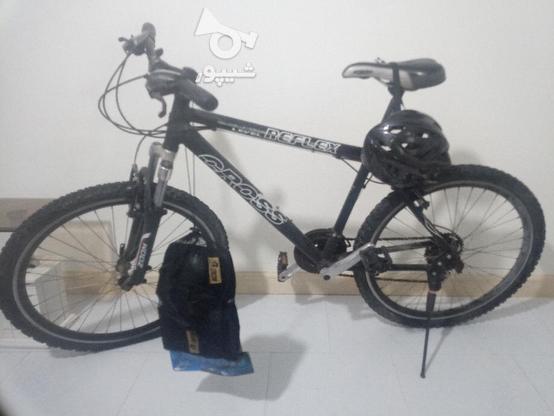 دوچرخه کراس 26 با وسایل در گروه خرید و فروش ورزش فرهنگ فراغت در تهران در شیپور-عکس3
