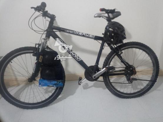 دوچرخه کراس 26 با وسایل در گروه خرید و فروش ورزش فرهنگ فراغت در تهران در شیپور-عکس1