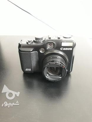 دوربین کنون g10کم کارکرد کاملا سالم در گروه خرید و فروش لوازم الکترونیکی در تهران در شیپور-عکس2