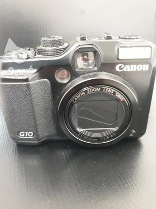 دوربین کنون g10کم کارکرد کاملا سالم در گروه خرید و فروش لوازم الکترونیکی در تهران در شیپور-عکس1