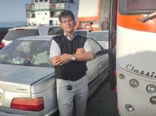 راننده پایه یک دارای کارت هوشمند و دفترچه ثبت ساعت اتوبوس در شیپور
