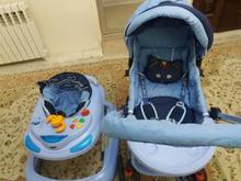 کالسکه و روروک بچه در شیپور
