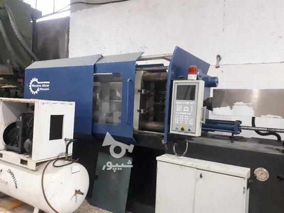 دستگاه تزریق پلاستیک 400تن منصوریان تابلو plc درحال کار در گروه خرید و فروش صنعتی، اداری و تجاری در مازندران در شیپور-عکس2