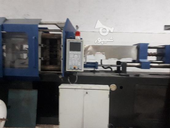دستگاه تزریق پلاستیک 400تن منصوریان تابلو plc درحال کار در گروه خرید و فروش صنعتی، اداری و تجاری در مازندران در شیپور-عکس1