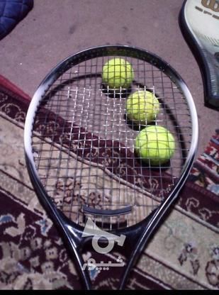 راکت تنیس ویلسون پرو حرفه ای در گروه خرید و فروش ورزش فرهنگ فراغت در گیلان در شیپور-عکس1