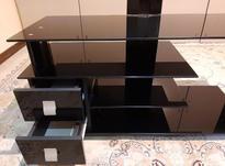 میز تلویزیون شیشه ای در حد نو در شیپور-عکس کوچک
