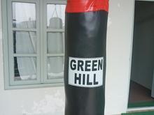 کیسه بوکس گرین هیل 120سانتی نو ودستکش در شیپور