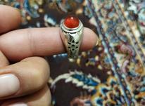 انگشتر نقره رکاب در شیپور-عکس کوچک