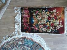 فرش دایره یک در یک و یک عدد تابلو فرش در شیپور