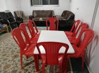 میز ناهار خوری و صندلی فایبر گلس در شیپور-عکس کوچک