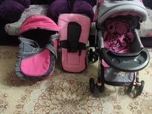 کالسکه دلیجان ، نی نی لای لای و ساک حمل بچه در حد نو در شیپور