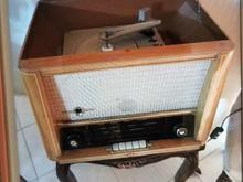 رادیو با گرامافون هفتاد ساله در شیپور