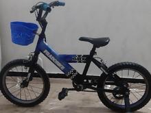دوچرخه سایز 16 BMX تایوانی دارای سبد کمکی کاملا سالم در شیپور