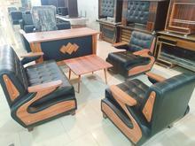 مبل نیم ست چهار نفره و فروش لوازم اداری در شیپور