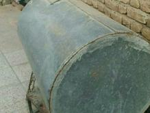 تانکر آب گالوانیزه 400 لیتری با شیر وشناور داخل تانکر در شیپور