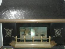 یک عدد بخاری گازی طرح شومینه . کار کرده و سالم در شیپور