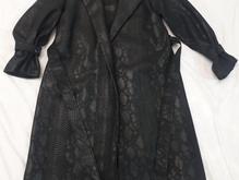 پالتو چرم پوشیده نشده دوخت مزونی در شیپور