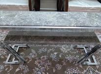 میز تلویزیون فلزی سنگی در شیپور-عکس کوچک