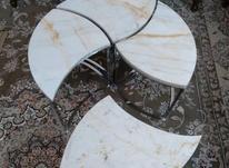 میز جلومبلی دوکاره سنگی در شیپور-عکس کوچک